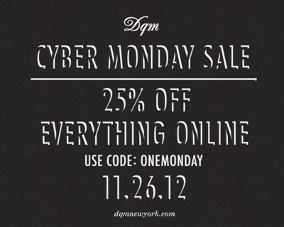 Some Cyber Monday Deals (2012)